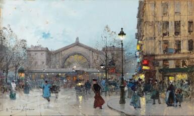 View 1. Thumbnail of Lot 214. The Gare de l'Est.