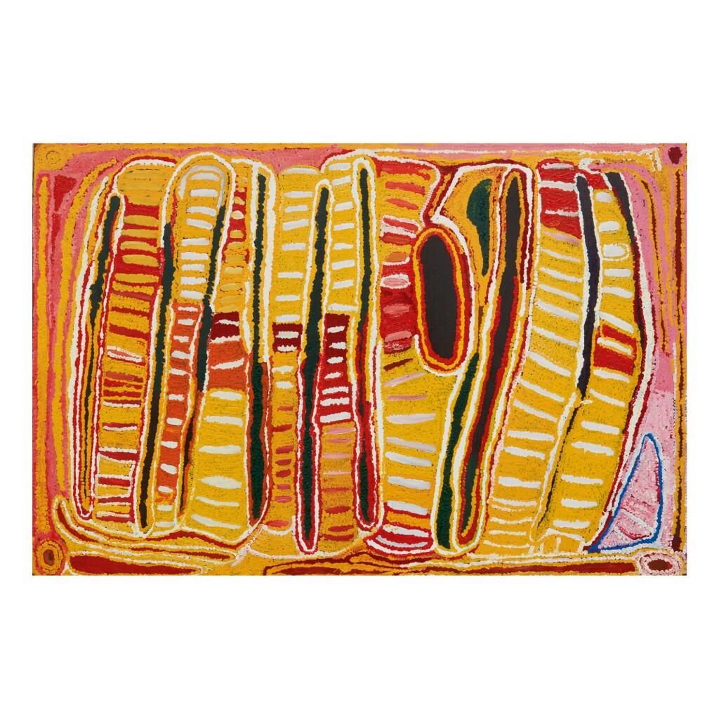 EUBENA NAMPITJIN | NEAR JUPITER WELL IN THE GREAT SANDY DESERT, W.A.