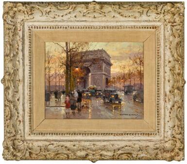 View 2. Thumbnail of Lot 167. L'Arc de Triomphe.