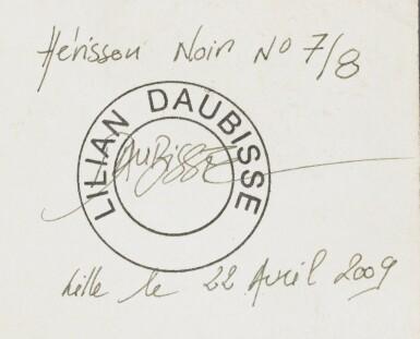View 4. Thumbnail of Lot 207. LILIAN DAUBISSE | HÉRISSON NOIR.