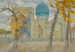 YAKOV MARKOVICH KHAIMOV | Two Views of Samarkand