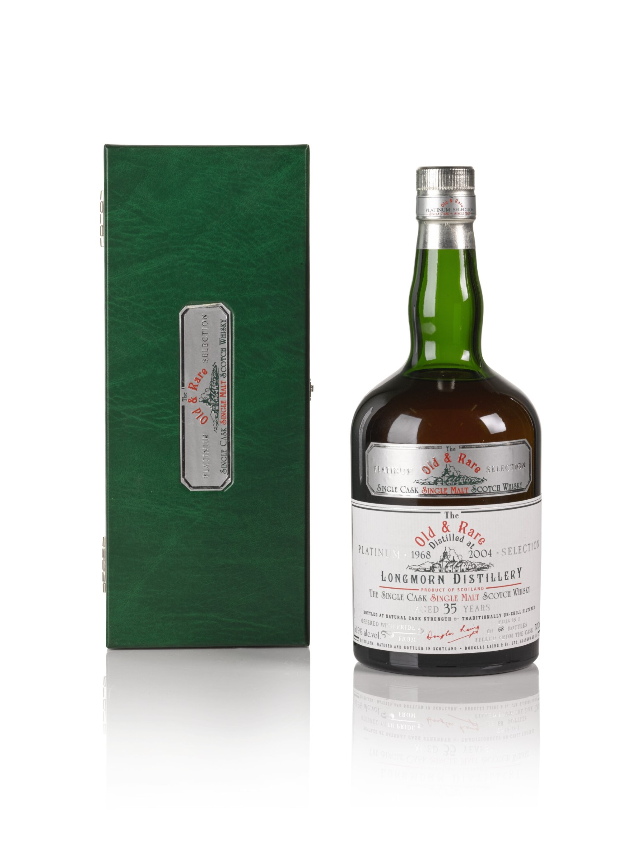 View full screen - View 1 of Lot 158. Longmorn Douglas Laing 35 Year Old Old & Rare Platinum Selection 61.9 abv 1968 .