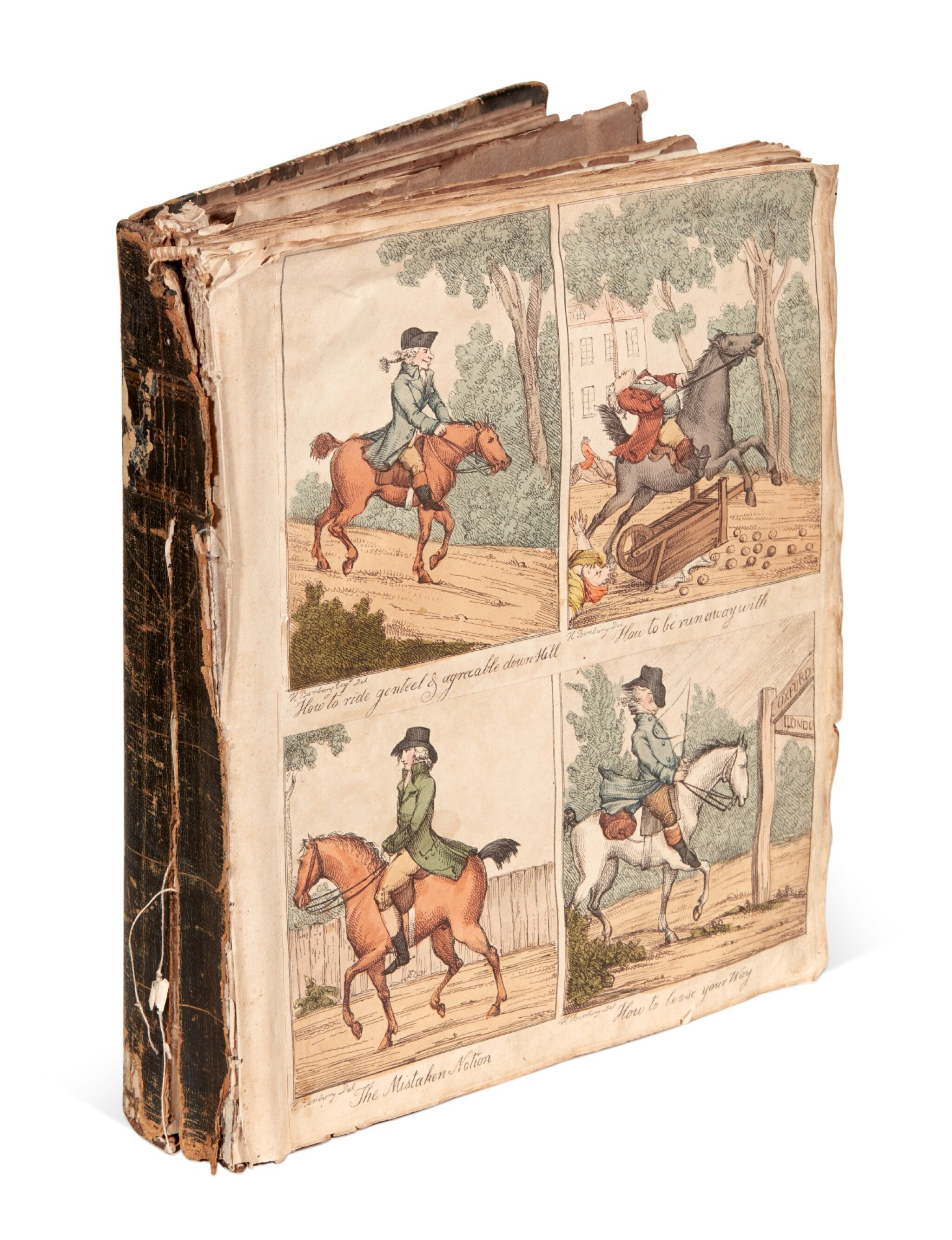 View full screen - View 1 of Lot 208. The Mason Family Album, 1794-1862.