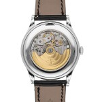 PATEK PHILIPPE   REF 5496P, A PLATINUM AUTOMATIC PERPETUAL CALENDAR WRISTWATCH WITH RETROGRADE DATE, MOON PHASES AND LEAP YEAR INDICATION CIRCA 2012