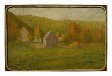 LOUIS MICHEL EILSHEMIUS | COUNTRY LANDSCAPE