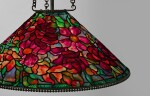 "TIFFANY STUDIOS | ""FLOWERING BOUQUET"" CHANDELIER"