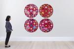 村上隆 MURAKAMI TAKASHI | 花球(四件一組) FLOWERBALL (3D) (SET OF FOUR)