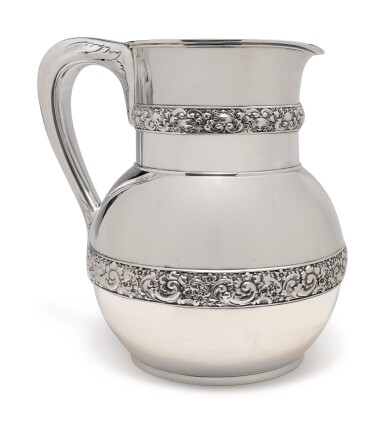 View 1. Thumbnail of Lot 207.  AN AMERICAN SILVER PITCHER, TIFFANY & CO., NEW YORK, CIRCA 1878.