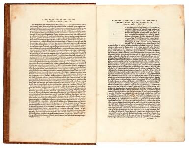View 2. Thumbnail of Lot 2. Herodotus. Libri novem. Aldus, Venice, 1502. nineteenth-century calf gilt.