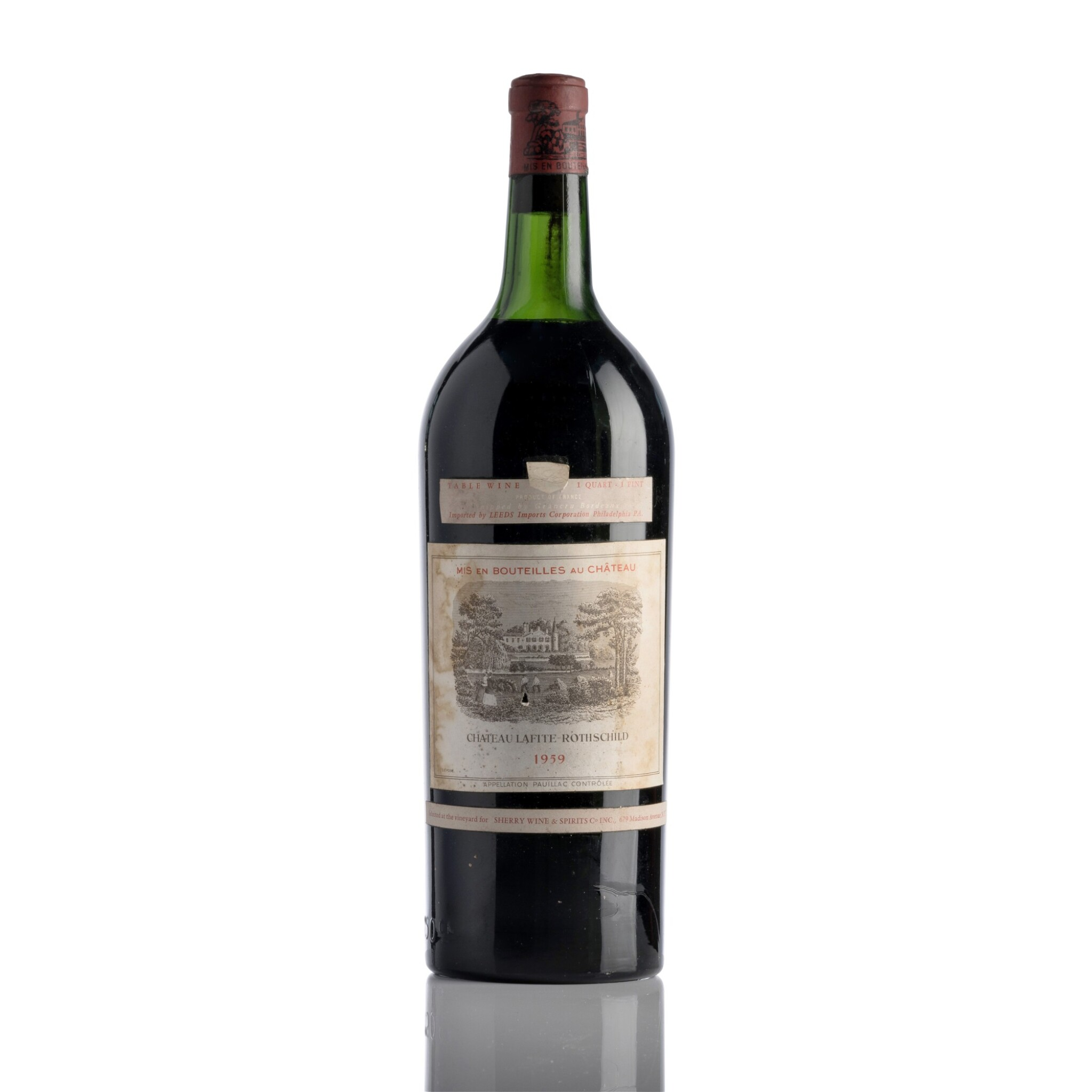 View full screen - View 1 of Lot 245.  Château Lafite 1959  (1 MAG).
