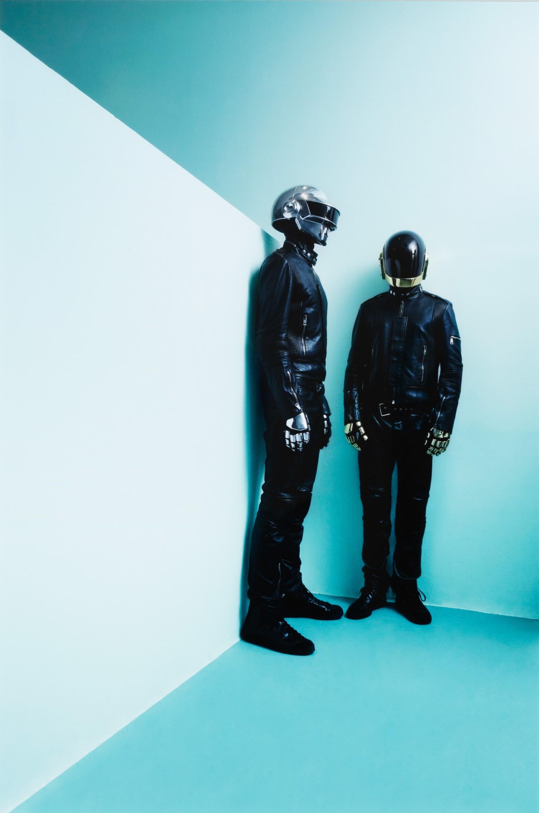 View full screen - View 1 of Lot 198. Daft Punk, Paris 2007.