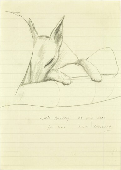 DAVID HOCKNEY, R.A. | LITTLE AUDREY