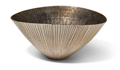 View 1. Thumbnail of Lot 75. DAME LUCIE RIE | OVAL BOWL.