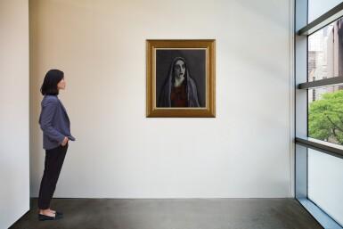 View 4. Thumbnail of Lot 13. Portret van Charlotte Theresia Catharina Köhler (1892-1977) (Portrait of Charlotte Theresia Catharina Köhler (1892-1977)).
