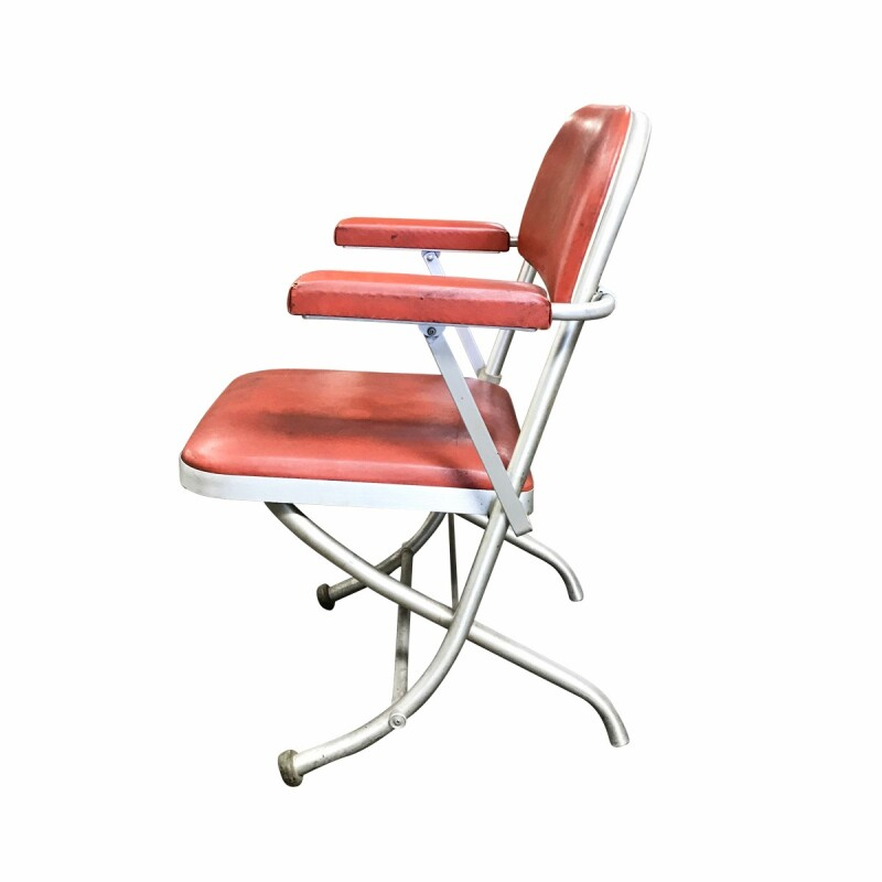 Folding Upholstered Armchair