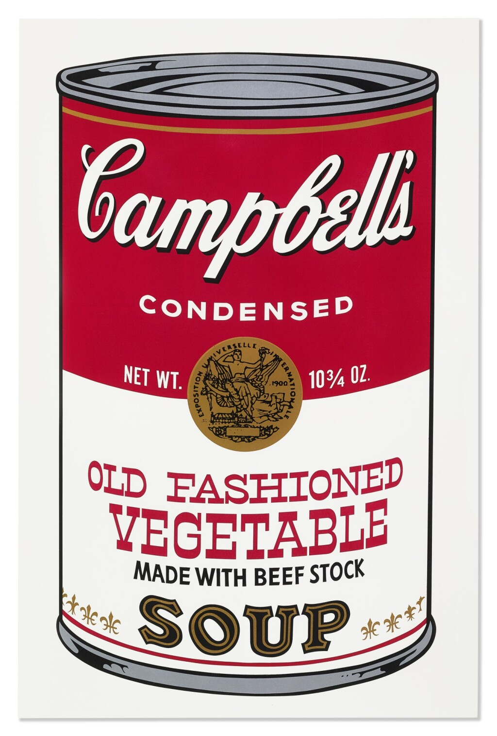 ANDY WARHOL 安迪·沃荷 | CAMPBELL'S SOUP II: OLD FASHIONED VEGETABLE (II.54) 金寶濃湯 II:傳統蔬菜(II.54)