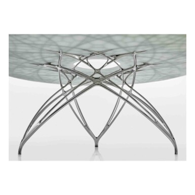 "View 4. Thumbnail of Lot 451. ""Leaf"" Table."
