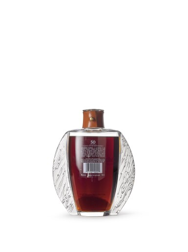 View 4. Thumbnail of Lot 2001. The Macallan In Lalique - Exceptional Oak Cask Decanter, 50 Years Old.