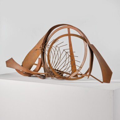 View 2. Thumbnail of Lot 740. SIR ANTHONY CARO, R.A.   TABLE PIECE CCCXLI.