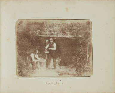 View 12. Thumbnail of Lot 11. William Henry Fox Talbot's Gifts to his Sister: Horatia Gaisford's Collection of Photographs and Ephemera.