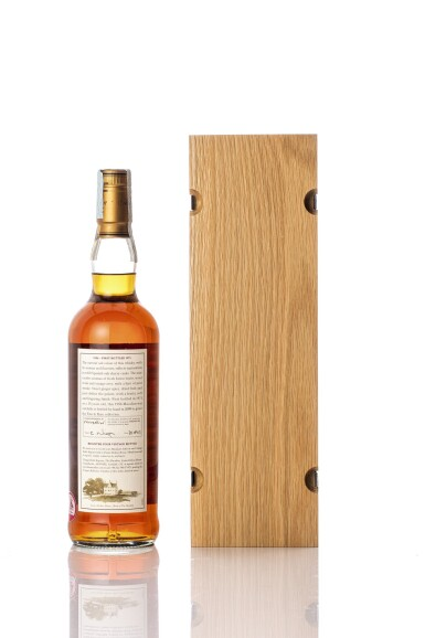 View 2. Thumbnail of Lot 5519. The Macallan Fine & Rare 15 Year Old 46.2 abv 1956 (1 BT70).
