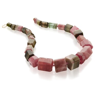 View 2. Thumbnail of Lot 80. TOURMALINE NECKLACE, PALOMA PICASSO FOR TIFFANY & CO..