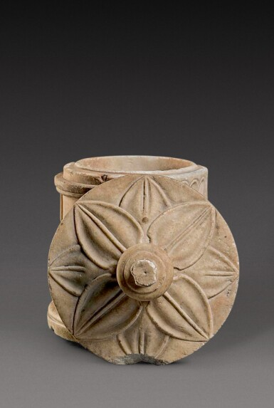View 3. Thumbnail of Lot 63. A Roman Marble Cinerary Urn inscribed for Lucius Versenus Paulinus, 1st/2nd Century A.D..