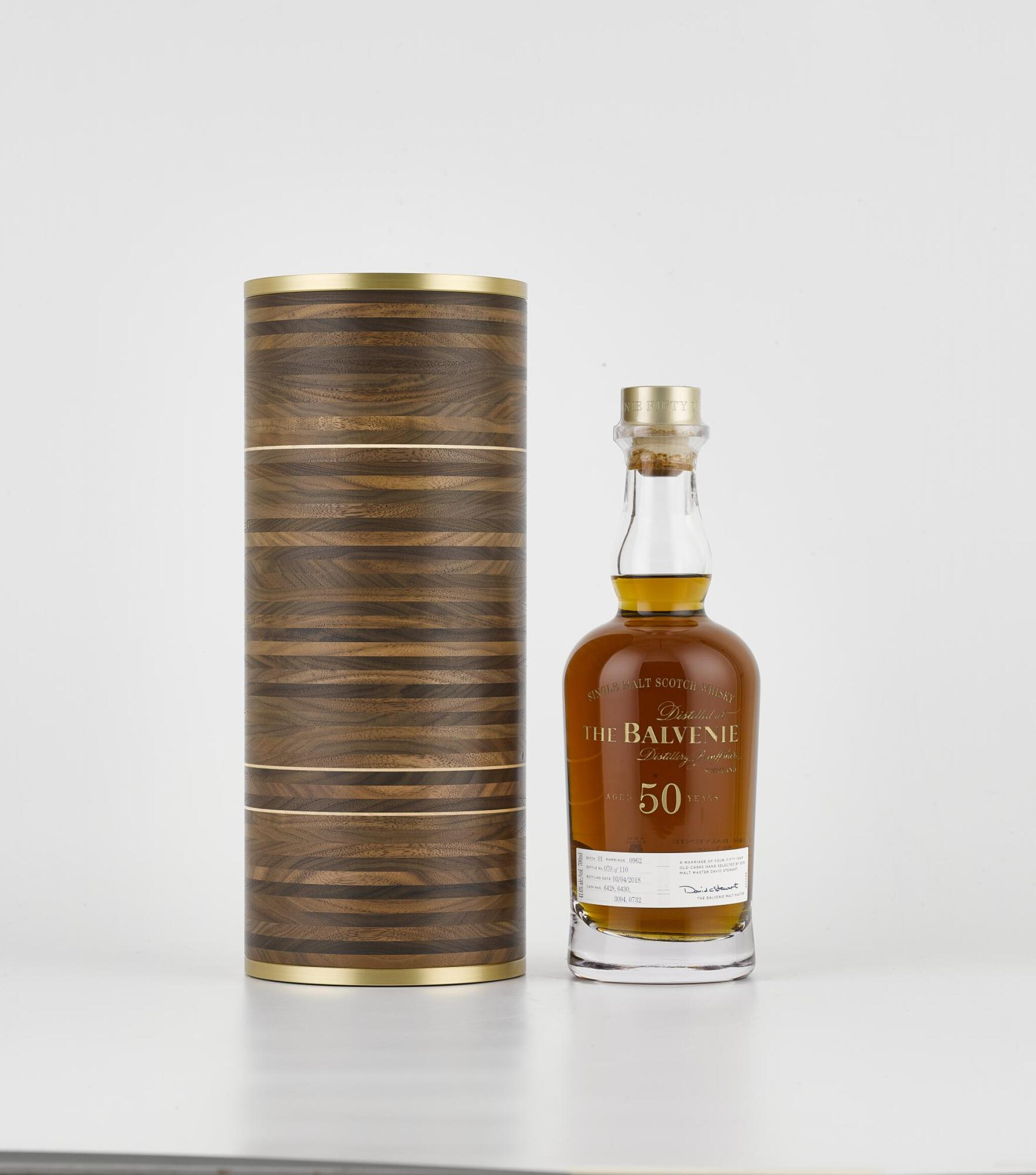 View full screen - View 1 of Lot 61. The Balvenie 50 Year Old Marriage 0962 41.6abv NV (1 BT70).
