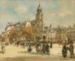 Place de Saint-Germain des Prés, Paris