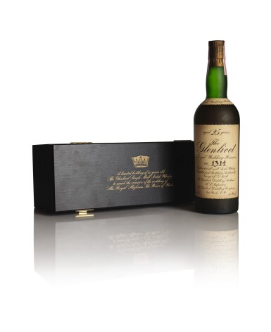 View 1. Thumbnail of Lot 202. THE GLENLIVET ROYAL WEDDING RESERVE 25 YEAR OLD 40.0 ABV NV .