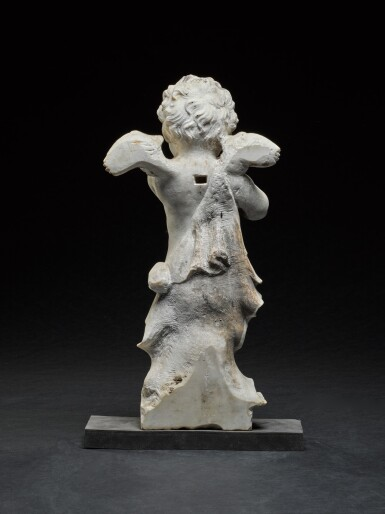 Possibly English, Mourning Putto, 17th/ 18th century