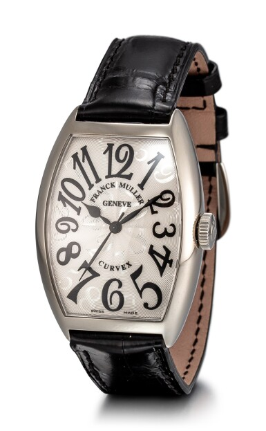 View 2. Thumbnail of Lot 104. FRANCK MULLER   CURVEX, REFERENCE 5850 SC HO A STAINLESS STEEL WRISTWATCH, CIRCA 2018.