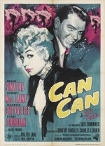 Can-Can (1960) poster, Italian
