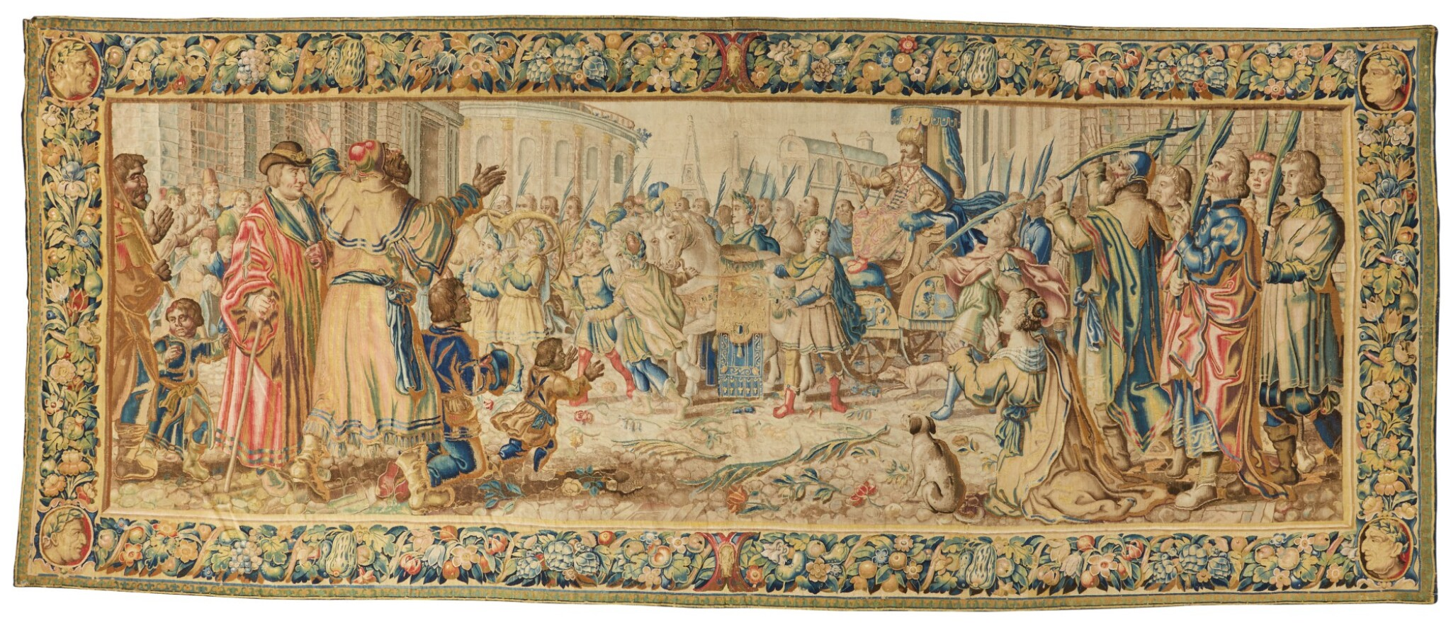 View 1 of Lot 17. A Triumph Classical Tapestry, Northern Netherlands,  third quarter 17th century .