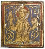 FRENCH, LIMOGES, 13TH CENTURY | PLAQUE WITH CHRIST BLESSING
