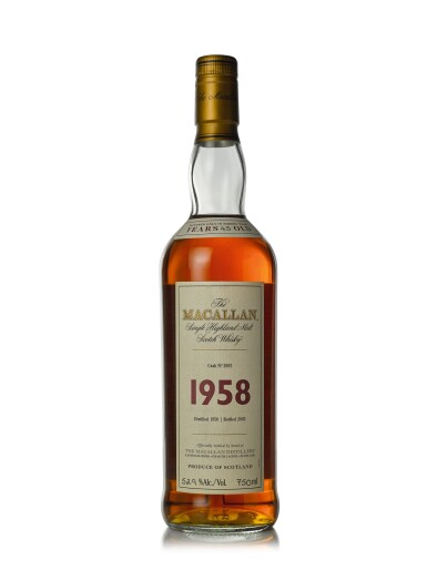 The Macallan Fine & Rare 43 Year Old 52.9 abv 1958 (1 BT75cl)