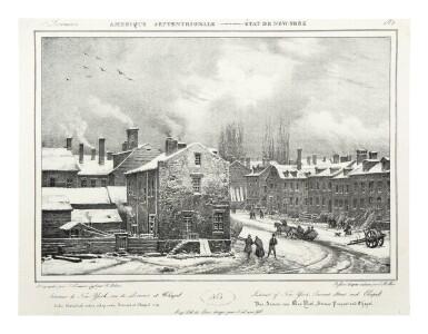 View 10. Thumbnail of Lot 225. Milbert, Jacques-Gérard |  An outstanding series of American views.