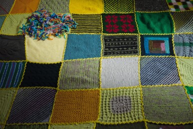 View 3. Thumbnail of Lot 85. Untitled (Colville's Calling all Knitters! campaign).