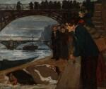 Le noyé du Pont des Arts
