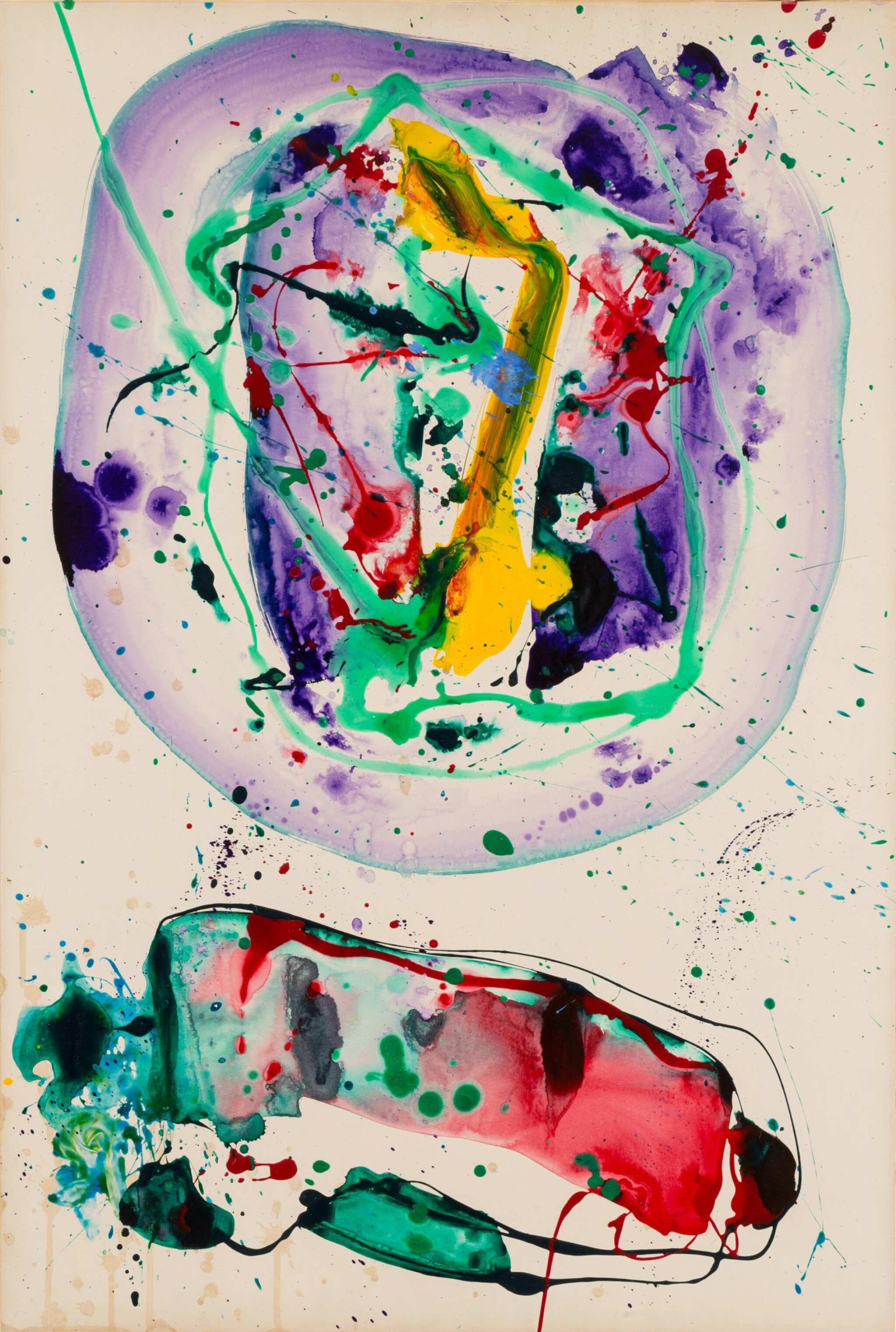 View full screen - View 1 of Lot 505. SAM FRANCIS   SANS TITRE [UNTITLED].
