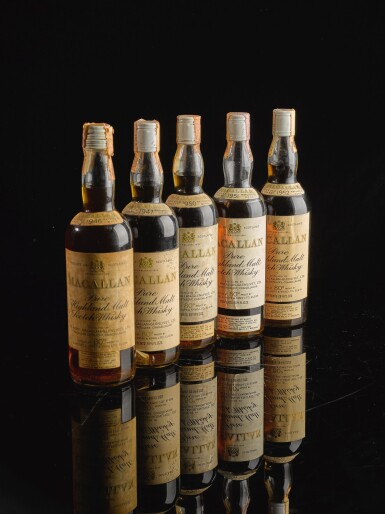 THE MACALLAN OVER 15 YEAR OLD 45.85 ABV 1946