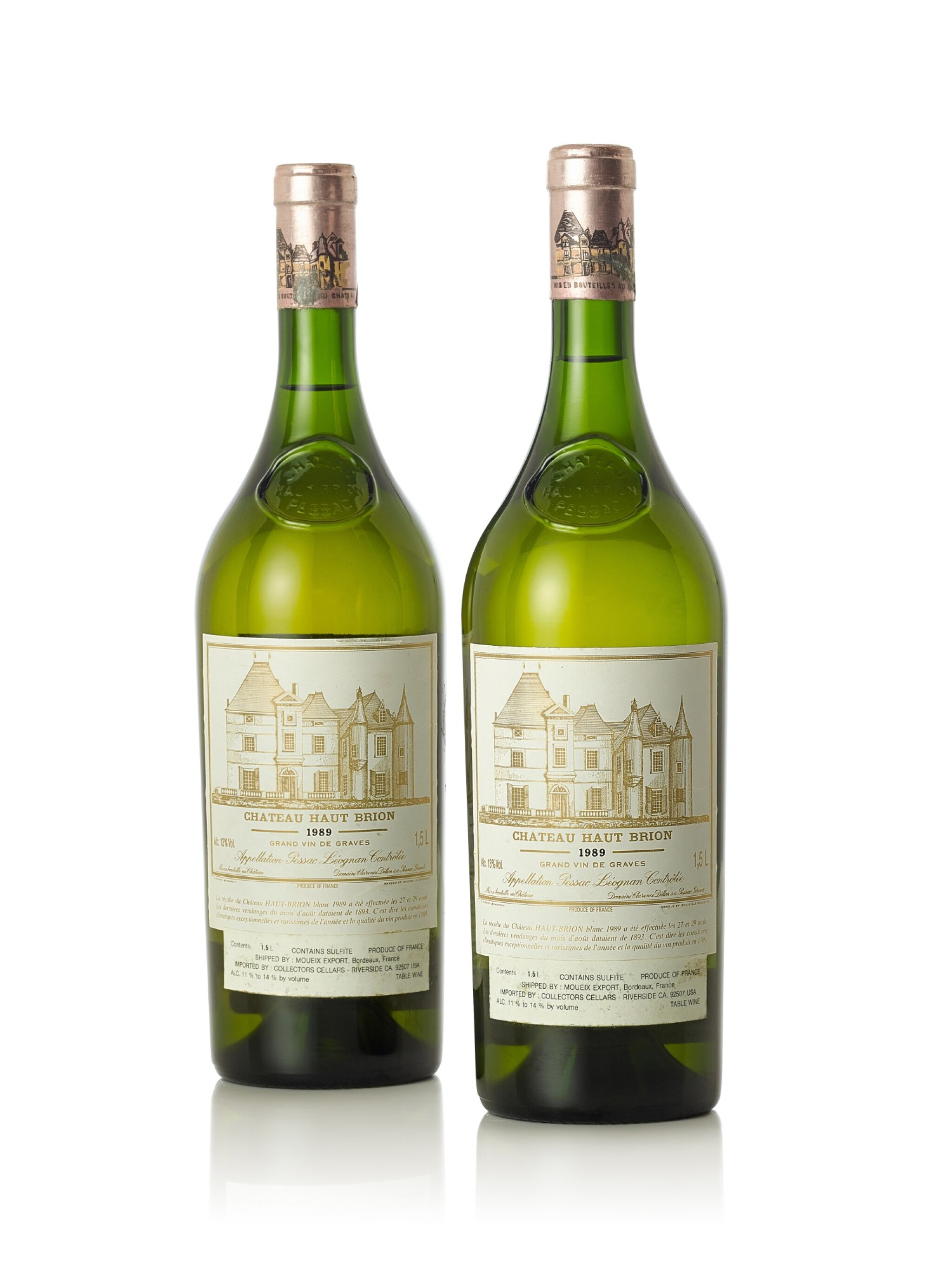 View full screen - View 1 of Lot 8047. Château Haut Brion Blanc 1989  (2 MAG)     .
