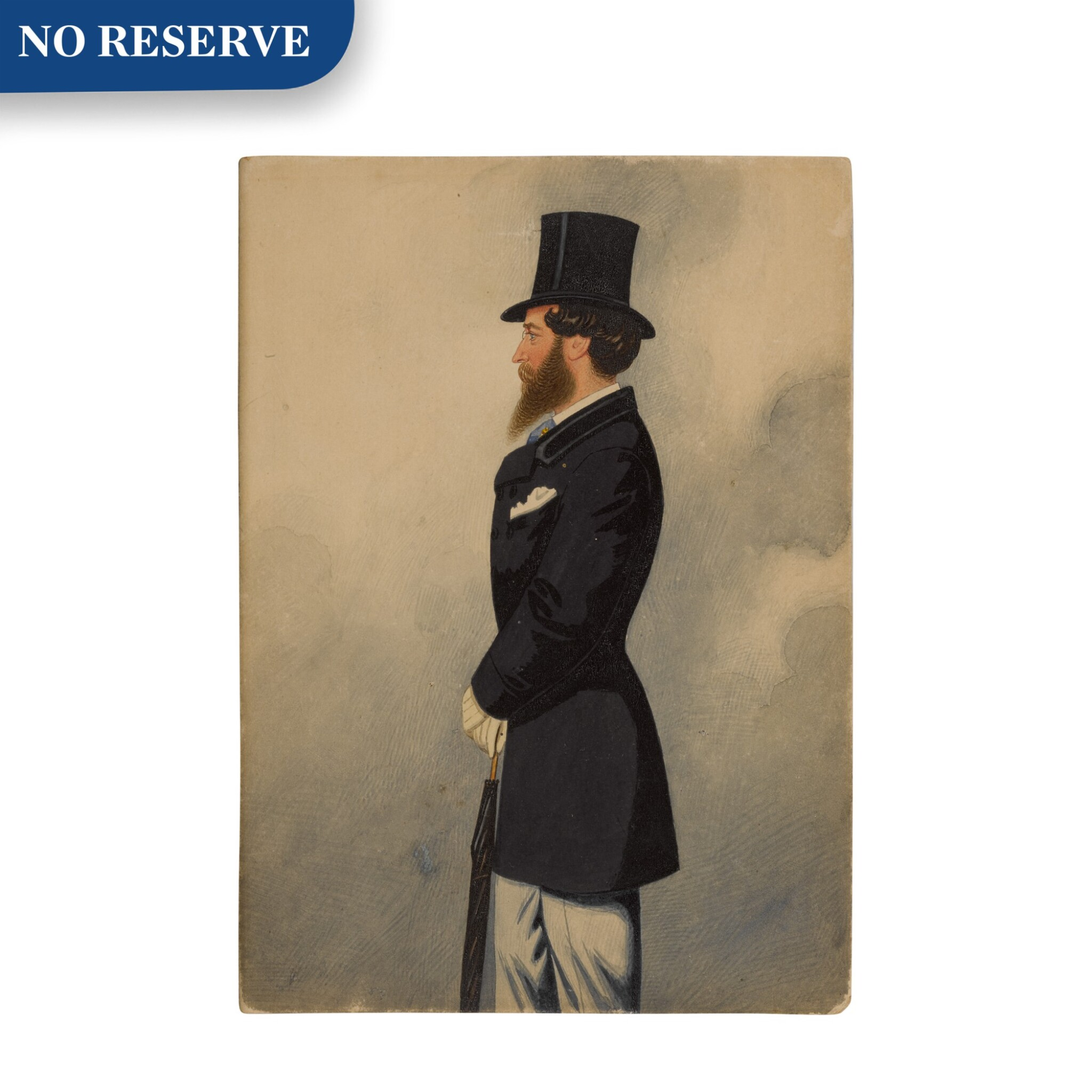 View full screen - View 1 of Lot 162. Portrait of Captain Mildmay.