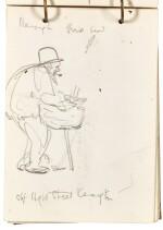 JACK BUTLER YEATS, R.H.A. | FIVE SKETCHBOOKS