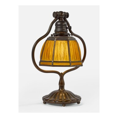 "TIFFANY STUDIOS | ""FAVRILE FABRIQUE"" DESK LAMP"