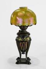 "TIFFANY STUDIOS | ""MILLEFIORI"" KEROSENE TABLE LAMP"