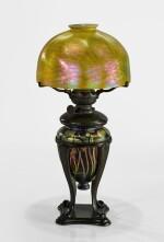 "TIFFANY STUDIOS | ""MILLEFIORI"" KEROSENE TABLE LAMP"