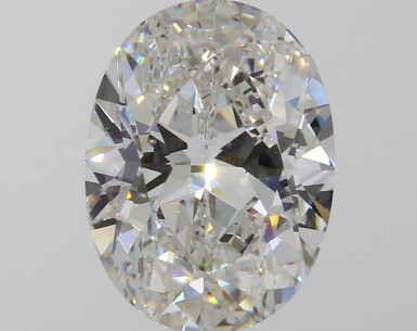 A 2.33 Carat Oval-Shaped Diamond, I Color, VVS1 Clarity