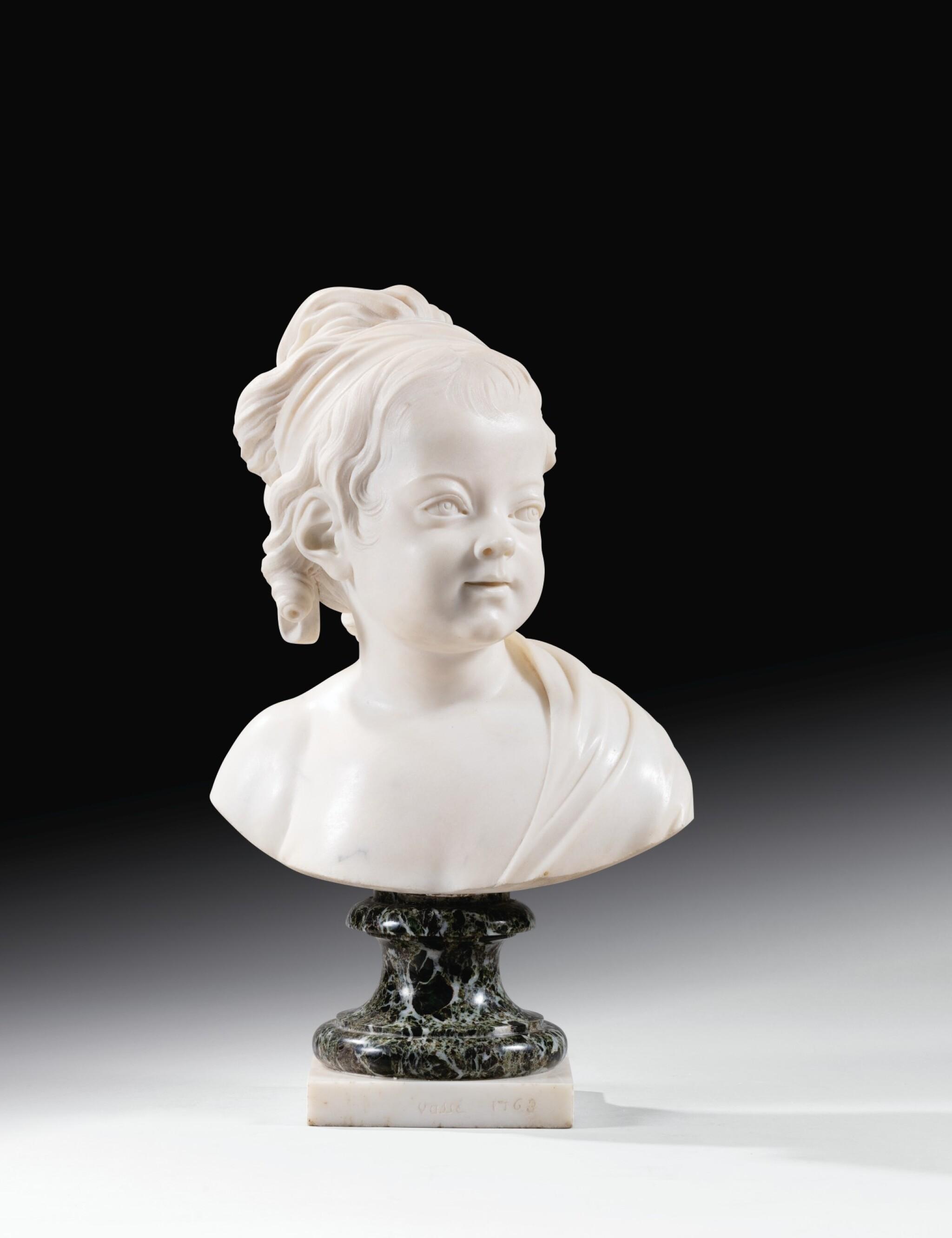 View full screen - View 1 of Lot 63. Portrait of Constance-Félicité-Victoire-Désirée Vassé, daughter of the artist.
