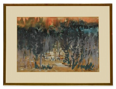 View 4. Thumbnail of Lot 1827. GOPAL GHOSE   UNTITLED (SET OF TWO) .